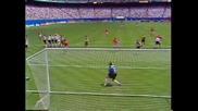Bulgaria - Germany - Hristo Stoitchkov goal