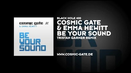 Electro! Cosmic Gate & Emma Hewitt - Be Your Sound (tristan Garner Remix) [hd Sound]