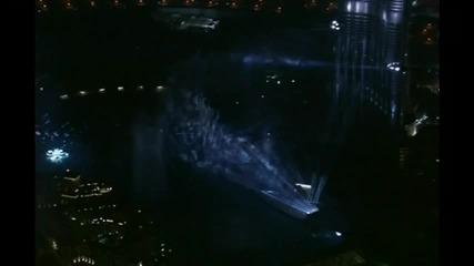 Откриването на най - високата сграда в Света - The Burj Dubai