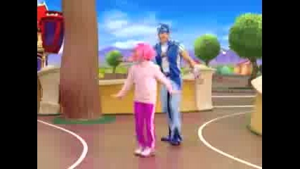 lazy town i cant move