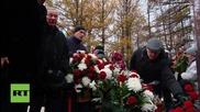 Russia: Monument to AK-47 inventor Mikhail Kalashnikov unveiled in Izhevsk
