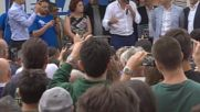 Italy: Interior Minister Salvini holds rally in Florence