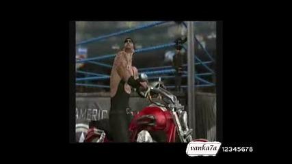 The Undertaker Svr2009 entrance American Bad ass