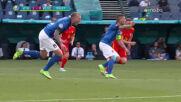 Уелс с 10 човека срещу Италия
