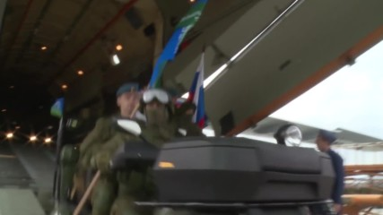 Serbia: Russian and Belarusian Airborne units arrive for 'Slavic Brotherhood' drills