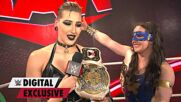 WWE Women's Tag Team Champions Rhea Ripley & Nikki A.S.H. reflect after an emotional victory: WWE Digital Exclusive, Sept. 20, 2