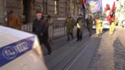Ukraine: Protesters attend 'March of Justice' in Lviv