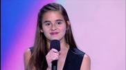 13 годишно момиче вдигна и публиката и журито на крака в X-factor Usa