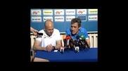 Пепе Мурсия: С Гонзо ще сме успешен екип, радвам се заради играчите