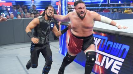 Samoa Joe brutalizes Mustafa Ali: SmackDown LIVE, Jan. 14, 2019