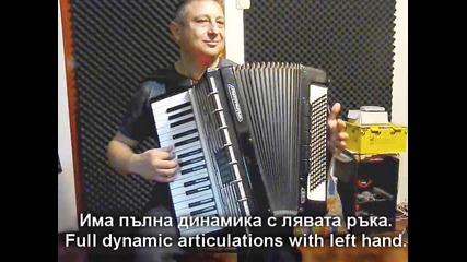 Георги Събев - Midi Акордион - първи проби