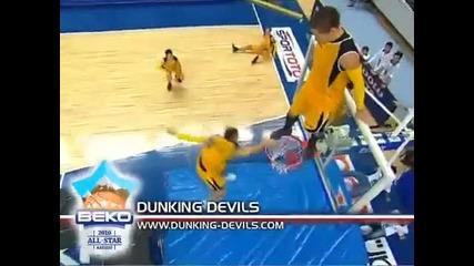 Acrobatic Slam Dunk Show