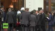 Austria: Saudi FM Jubeir arrives for second day of Syria talks in Vienna