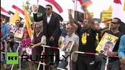 Germany: Morsi supporters swamp Chancellery as Sisi meets with Merkel