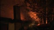 Голям пожар избухна в заведение