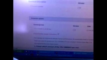 pioneer - cdj 1000 mk3 - firmware update (1)