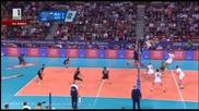 Велика България разгроми Германия с 3:0 и е на 1/2 финал на Евроволей 2015! 14.10.2015