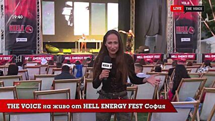 THE VOICE LIVE от HELL ENERGY FEST 2021: Очаквай много интервюта тази седмица в Planet Voice [10]