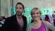 Dancing Stars - Албена и Калоян за премеждията в салса седмицата (15.04.2014г.)