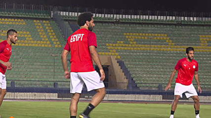 Egypt: Salah and teammates practice ahead of Africa Cup of Nations opener