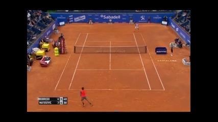 Нишикори и Робредо с победи в Барселона