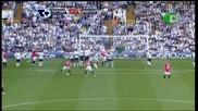 Tottham - Man Utd - 1:1 - гол на Гигс от пряк свободен удар