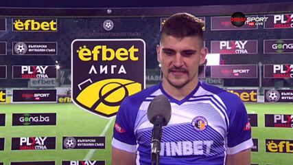 Преслав Боруков: Трябва да излизаме като фаворит във всеки мач до края на сезона