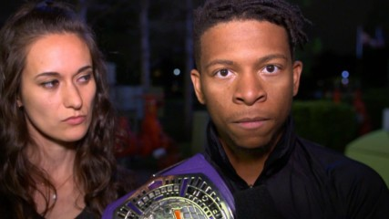Don't mess with Lio Rush's family: WWE.com Exclusive, Nov. 13, 2019