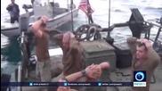 Тв Иран - американски военни на колене !