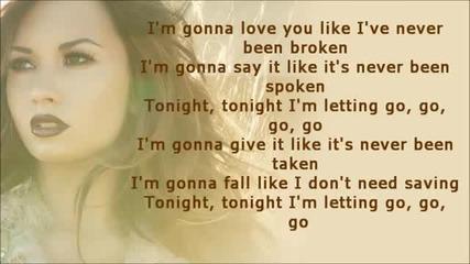 Demi Lovato - Unbroken Lyrics