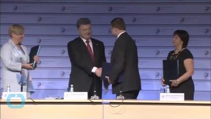 EU Agrees 1.8bn-Euro Loan to Ukraine