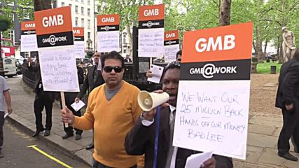 UK: Addison Lee drivers gridlock Mayfair in protest against pay cuts