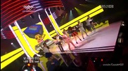 Mighty Mouth feat. Soya - Bad boy @ Music Bank (18.05.2012)