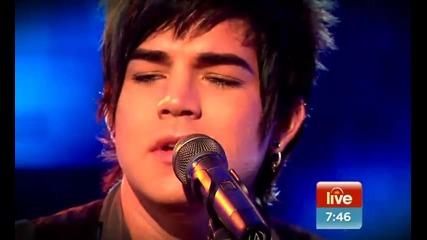 Adam Lambert - Whataya Want From Me Live