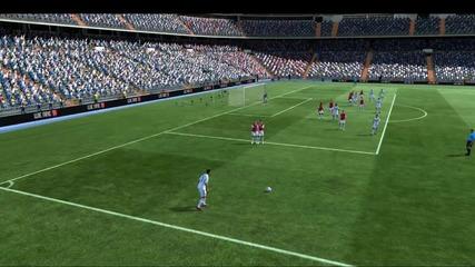 Страхотен free kick от Роналдо