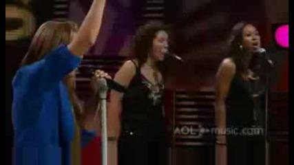 Miley Cyrus - The Climb Aol Music Session