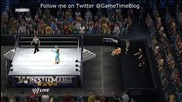 Wwe 12 Онлайн Мач - Cody Rhodes & Yoshi Tatsu vs. Sin Cara & Rey Mysterio
