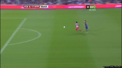 Fc Barcelona vs Atletico Madrid - 4 - 1 Aguero