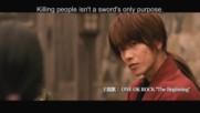 Rurouni Kenshin - Скитника Кеншин - Official Uk Trailer (2012) - Japanese Action Movie