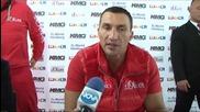 Коментарите на братята Кличко след големия сблъсък - Новините на Нова