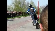 Raptowny Stunt moto