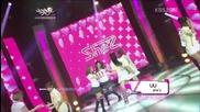 She'z - U U @ Music Bank (05.10.2012)