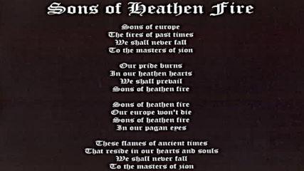 Wolves Eyes - Sons Of Heathen Fire