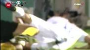 Футболист се опитва да откъсне пениса на противник!