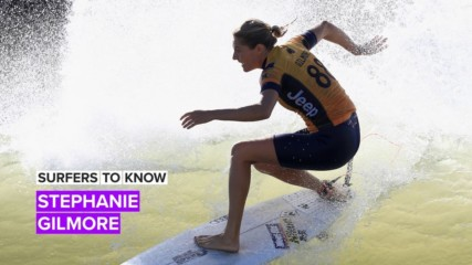 Here's the 4-1-1 on pro surfer Stephanie Gilmore