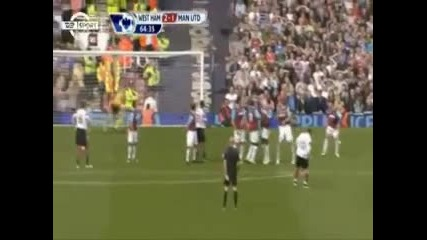 West Ham United vs Manchester United (2 - 4) All Goals [2 - 04 - 2011]