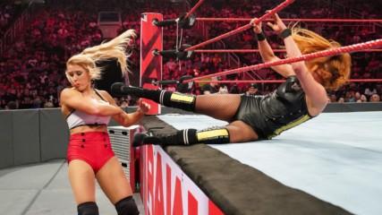 Becky Lynch & Bayley vs. Lacey Evans & Alexa Bliss: Raw, June 11, 2019
