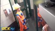 Нинджи в коридора - Шега