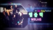 Mblaq - It's War [ Asia Song Festival 25.08.2012 ]