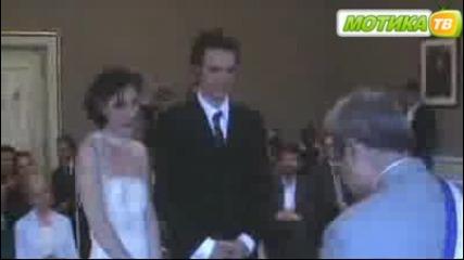 Ето това е да си нервен на сватба си! :д